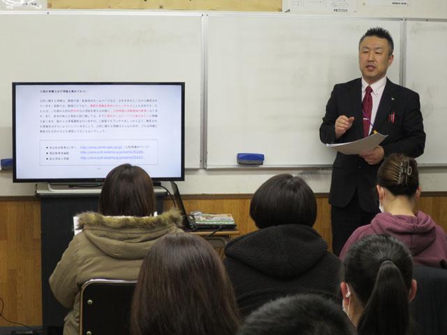 昨年度 入試対策講演会の画像